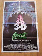 PARASITE Original 3D horror poster 1982 Demi Moore Cheri Currie