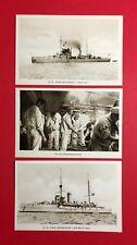 3 x Militär AK HOLLAND Kriegsmarine der Niederlande Schiff Brinio   ( 46277