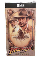 Indiana Jones and the Last Crusade Very Rare (S-Vhs, 1990)