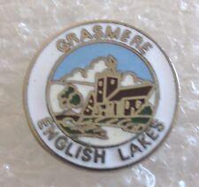 Grasmere-English Lakes, England Tourist Travel Souvenir Collector Pin