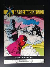 Marc Dacier Eddy Paape Charlier le train fantome  Ed Deligne TTBE