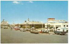 "1960's Holding""s LITTLE AMERICA Wyoming GAS STATION Motel Restaurant VW Van AUTO"