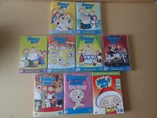 Family Guy DVD Bundle Series 1,2,3,4,5,6,7,uncovered & Happy Freakin Christmas