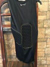 Protective Gear Padded Shirt Black M 3 Pad Football Stromgren Athletics , New