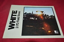 White 2-70 Tractor Dealer/'s Brochure PBPA P232