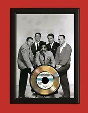 Rat Pack 2 Poster Art Wood Framed 45 Gold Record Display C3