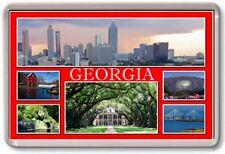 FRIDGE MAGNET - GEORGIA - Large - USA America TOURIST