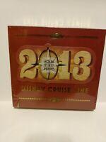 New...2013 Disney Cruise Line Photo Album - Holds 100 4 x 6 photo's w/memo area