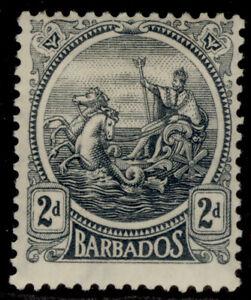 BARBADOS GV SG221, 2d grey, M MINT.