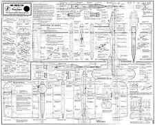 HOT PANTS FAI classic control line combat model plan