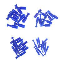 10pcs nylon pneumatique bouchon tuyau tube flexible raccord d'air ligne