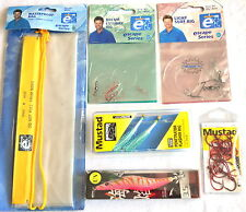 Fishing Tackle  - Bag Rigs Hooks Squid Jig  - All Brand New