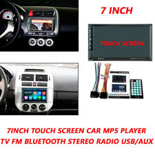 7'' Car HD MP5 Player TV FM Bluetooth Touch Screen Stereo Radio USB/AUX Kits