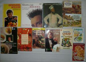 12 Cookbooks Job Lot Bundle Recipes Cookery Books