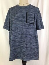 Nike Sportswear Mens Shirt Tech Knit Ocean Fog Blue Black XL Size 729397-014 New