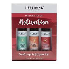 Tisserand Little Box Of Motivation. 3 x 10ml Rollerballs