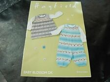 b6fe8d91a8a Hayfield Baby Blossom Double Knitting Pattern 4844 Birth to 2 Years