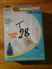 poches aspirateur panasonic black decker par 4
