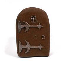 Small Fairy Door - handpainted resin - for the fairies in your garden