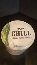 Sleeve Of Miller Chill Beer Coasters