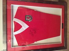 Wales Manager Ryan Giggs Framed, Signed Shirt, a rare and unique opportunity