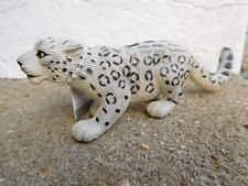 SNOW LEOPARD REPLICA Fauna selvatica in pericolo giocattolo di plastica - 13 cm. Safari Ltd Big Cat