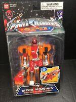 """Power Rangers S.P.D Mega Morphin 6"""" Red Ranger SPD Action Figure Bandai"""
