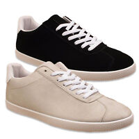 Mens Faux Suede Casual Comfort Tennis Classic Gym Trainers Shoes 7 8 9 10 11 12