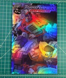 Transformers Armada: Energon #1 (2002) NM Chrome Wraparound Cover! Dreamwave