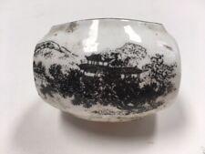 Chinese Porcelain Bird Feeder Ceramic Bowl for Bird Cage Vintage