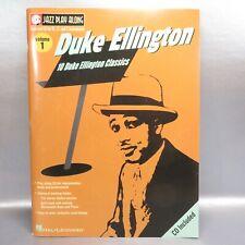 Duke Ellington's 10 Classics Book & CD Play Along by Hal Leonard