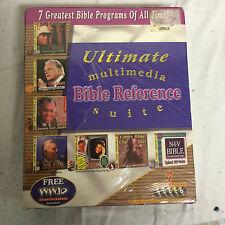 Rhinosoft Multimedia Bible Reference Bible Study New Sealed FREE SHIP
