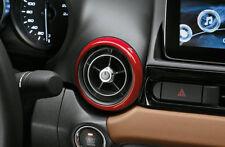 FIAT 124 Spider set di rosso Decorative Anelli di sfiato aria 71807615 NUOVO ORIGINALE