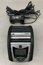 Zebra QLn320 Portable Label Mobile Thermal Printer w/ Power Supply