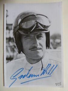 Graham Hill (GB)  † 1975 – Formel 1 / Motorsport, Autogrammkarte