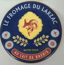 """Williams Sonoma """"Le Fromage Du Larzac"""" Collectible Plate Ram 7"""""""