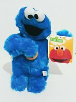 "Sesame Street 10"" Cookie Monster Stuffed Plush Authentic Licensed Kids New Gift"