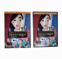 Mulan / Mulan II: 2-Movie Collection (DVD, New)