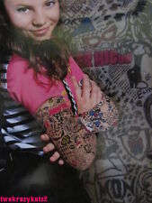 MONSTER HIGH TOTALLY TERRIFYING TATTOO SLEEVES DRESS UP COSTUME ACCESSORY