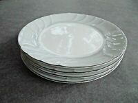 "Set of 4 Mikasa Prelude Salad Plates 8"" Wide"