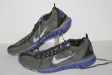 Nike Free 5 TR Running Shoes, #487791-300, Grey/Purple, Womens US Size 9