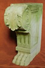 Ancient Roman Italian Marble Carved Architectural Garden Seat Lion Paw Corbel