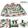500PCS Military Playset Plastic Toy Soldiers Army Men 4cm Figures Christmas