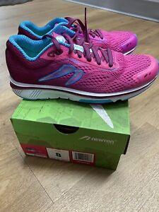 Newton Motion 9 Running Shoes Pink/Aqua US Women size 8