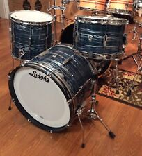 "Ludwig USA Club Date 20"" Kick Down Beat, Blue Strata - L6103L-Cheap Beats"