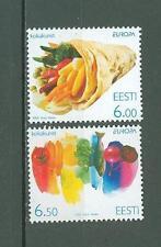 Estonia C69 MNH 2005 2v Food Vegetable Below face