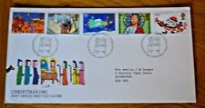 November 1981 First Day Cover Christmas