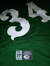 Gary Southshore Railcats American Chris Carrara autographed OT jersey mens 44