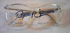 Vintage Regency Eyewear UX6 Crystal 57/17 Eyeglass Frame New Old Stock