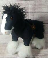 Disney Pixar Brave Plush ANGUS Black Horse Stuffed Animal Merida's Clydesdale
